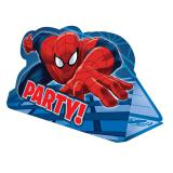 "8 cartons d'invitation ""Spider-Man Party"" avec enveloppes"