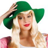 """Chapeau à larges bords """"Chic rétro"""" - vert"""
