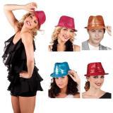 Élégant chapeau à paillettes