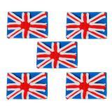 """Déco comestible pour gâteau """"England"""" 5 pcs."""