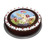 """Disque pour gâteau """"Mia et moi"""""""