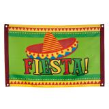 "Drapeau ""Happy Fiesta!"" 90 cm"