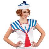 Col de marin chic bleu-blanc-rouge