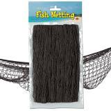 Filet de pêche décoratif 370 cm  x 120 cm - noir