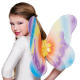 """Ailes """"Elfe haut en couleurs"""" pour enfants 36,5 x 47 cm"""