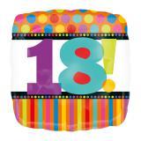 """Ballon en alu """"18 ans"""" 45 cm"""