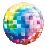 "Ballon en alu ""Disco fever multicolore"" 81 cm"