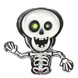 """Ballon en alu """"Drôle de squelette"""" 36 cm"""