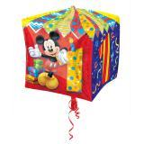 """Ballon en aluminium """"Anniversaire de Mickey Mouse"""" 38 cm - 1"""