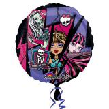 "Ballon en alu ""Amies Monster High"" 43 cm"