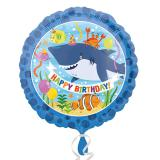 """Ballon en alu """"Amis des océans"""" 43 cm"""