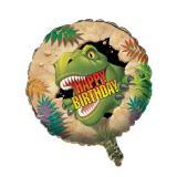 "Ballon en alu ""Dangereux dinosaures"" 46 cm"