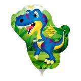 """Ballon en aluminium """"Petit Dino"""" 30 cm"""