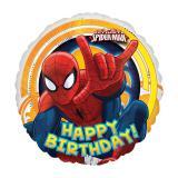 "Ballon en alu ""Ultimate Spider-Man Party"" 43 cm"
