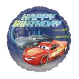 "Ballon ""Cars"" Happy Birthday 43 cm"