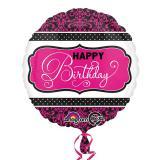 """Ballon en alu """"Fabulous Birthday"""" 43 cm"""