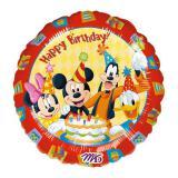 """Ballon en aluminium """"Anniversaire avec Mickey et ses amis"""" 43 cm"""
