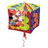 """Ballon en aluminium """"Anniversaire de Mickey Mouse"""" 38 cm - 3"""