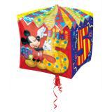 """Ballon en aluminium """"Anniversaire de Mickey Mouse"""" 38 cm - 5"""