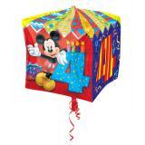 """Ballon en aluminium """"Anniversaire de Mickey Mouse"""" 38 cm - 4"""