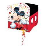 """Ballon en aluminium """"Mickey Mouse fait la fête"""" 38 cm"""
