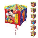 """Ballon en aluminium """"Anniversaire de Mickey Mouse"""" 38 cm"""
