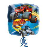 """Ballon en alu """"Blaze et les Monster Machines"""" 43 cm"""