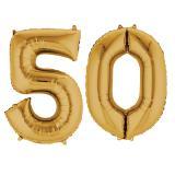 """Kit de ballons """"50 années dorées"""""""