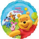 "Ballon en alu ""Happy Sunny Birthday Winnie l'ourson"" 43 cm"
