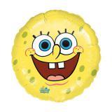 """Ballon en aluminium """"Bob l'éponge"""" 43 cm"""