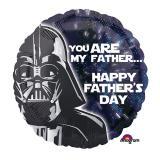 """Ballon en alu """"Star Wars - Fête des pères intergalactique""""  43 cm"""
