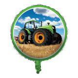 "Ballon en alu ""Mon tracteur"" 45 cm"