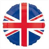 """Ballon en alu """"Union Jack"""" 46 cm"""