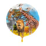 "Ballon en alu ""My Safari Party"" 43 cm"