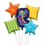 "Ballons ""Petit dino"" 5 pcs."