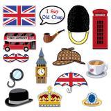 """Accessoires pour photo """"London Calling"""" 15 pcs."""