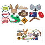 """Accessoires pour photos """"Australie"""" 12 pcs."""