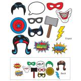 "Set d´accessoires photo""Comic"" 12-pcs"