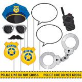 "Set accessoires photo ""Police cool"" 10-pcs"