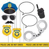 """Set accessoires photo """"Police cool"""" 10-pcs"""