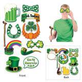 """Set accessoires photo """"St. Patrick's Day"""" 12-pcs"""