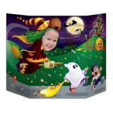 """Décor pour photo """"Nuit d'Halloween"""" 94 x 64 cm"""
