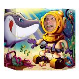 """Décor pour photo """"Sous les mers"""" 94 x 64 cm"""