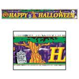 "Guirlande à franges ""Happy Halloween"" 150 cm"
