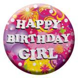 "Macaron d'anniversaire ""Birthday Girl"""