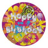 "Macaron anniversaire ""Happy Birthday"""