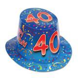 """Chapeau d'anniversaire """"40 Ans"""""""