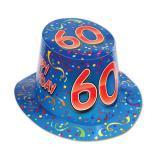 """Chapeau d'anniversaire """"60 Ans"""""""