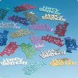 """Confettis """"Joyeux anniversaire"""" 15 g"""