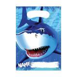"""Geschenk-Tütchen """"Gefährlicher Hai"""" 8er Pack"""